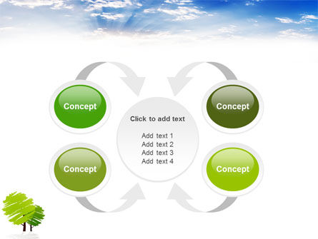 Greenery PowerPoint Template Slide 6