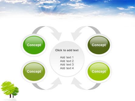 Greenery PowerPoint Template Slide 6
