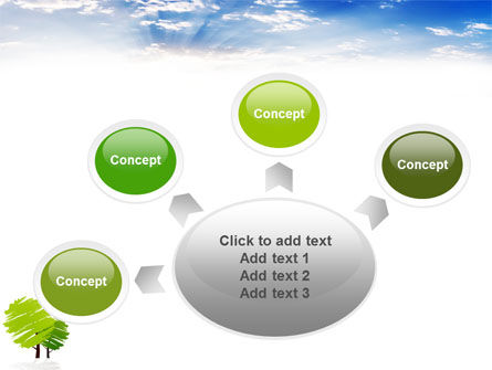 Greenery PowerPoint Template Slide 7