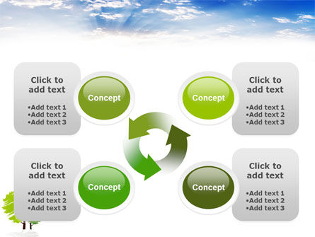 Greenery PowerPoint Template Slide 9