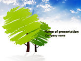 Greenery PowerPoint Template#1