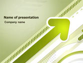 Abstract/Textures: Rising PowerPoint Template #03480
