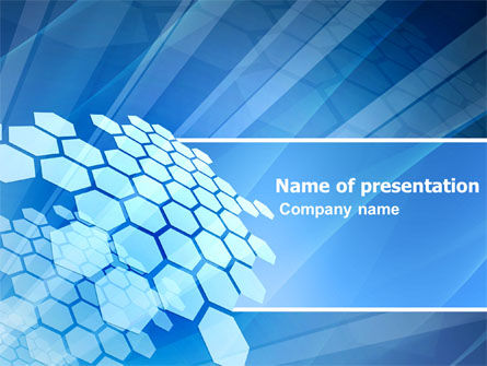 Abstract/Textures: Fragments PowerPoint Template #03481