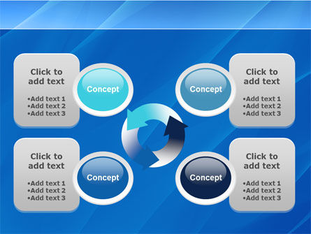 Fragments PowerPoint Template Slide 9