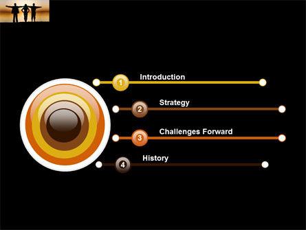 Wide Horizons PowerPoint Template, Slide 3, 03483, Sports — PoweredTemplate.com