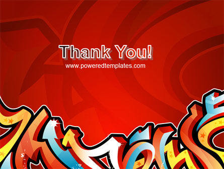 Graffiti PowerPoint Template Slide 20