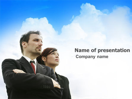 Business: Into the Future PowerPoint Template #03485
