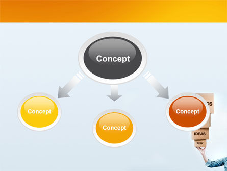 Blocks of Success PowerPoint Template Slide 4