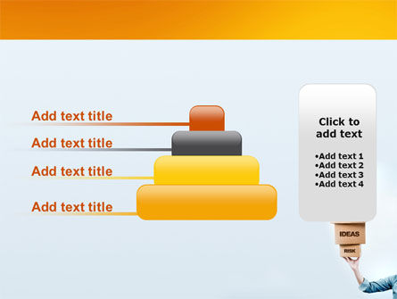 Blocks of Success PowerPoint Template Slide 8