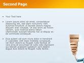 Blocks of Success PowerPoint Template#2