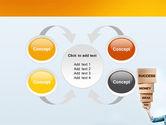 Blocks of Success PowerPoint Template#6
