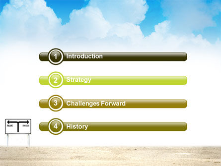 Successful Way PowerPoint Template, Slide 3, 03487, Business Concepts — PoweredTemplate.com