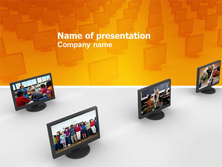 Education Programs PowerPoint Template, 03489, Education & Training — PoweredTemplate.com