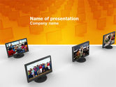 Education & Training: Plantilla de PowerPoint - programas de educación #03489