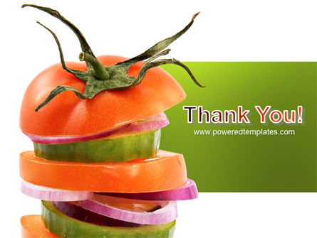 Fresh Vegetables PowerPoint Template Slide 20