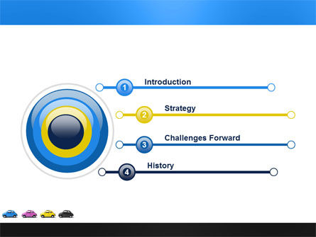 Minicars PowerPoint Template, Slide 3, 03491, Cars and Transportation — PoweredTemplate.com
