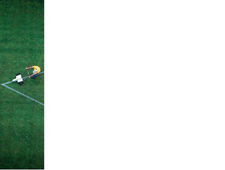 Field Marking PowerPoint Template, Slide 3, 03494, Sports — PoweredTemplate.com