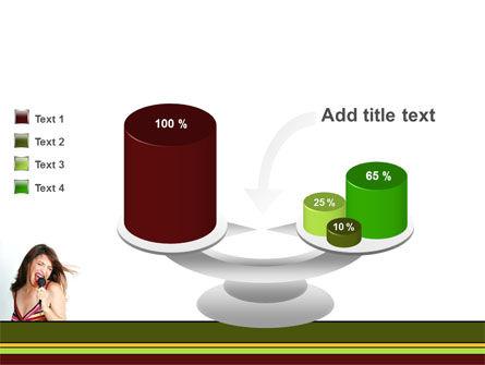 Singing PowerPoint Template Slide 10