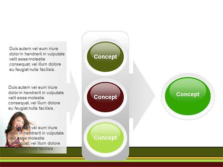 Singing PowerPoint Template Slide 11