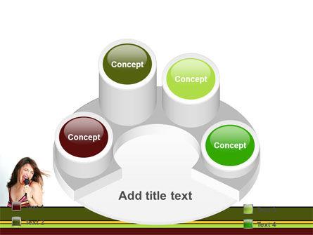 Singing PowerPoint Template Slide 12