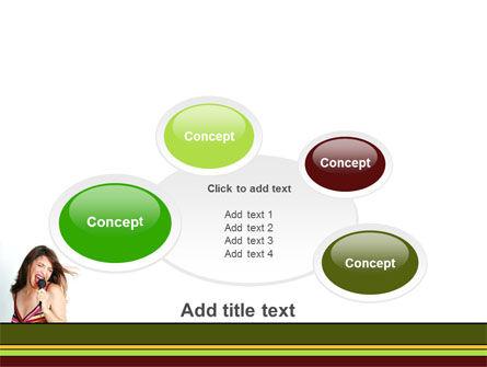 Singing PowerPoint Template Slide 16