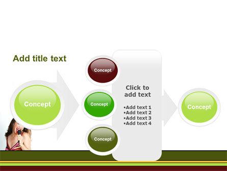 Singing PowerPoint Template Slide 17
