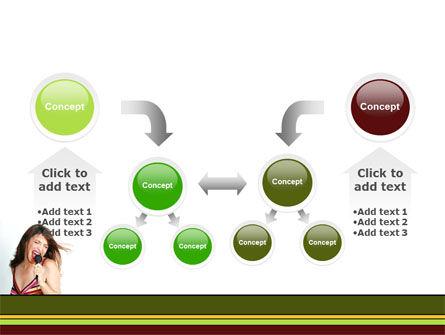 Singing PowerPoint Template Slide 19