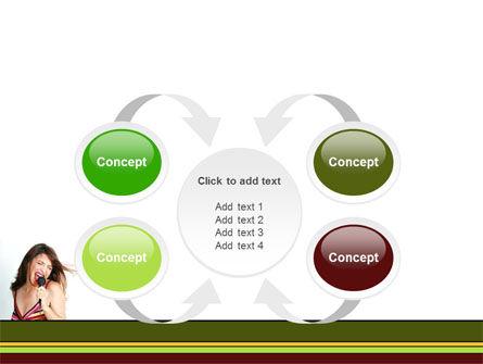 Singing PowerPoint Template Slide 6