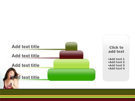 Singing PowerPoint Template Slide 8