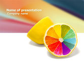 Business Concepts: Color Diversity PowerPoint Template #03498