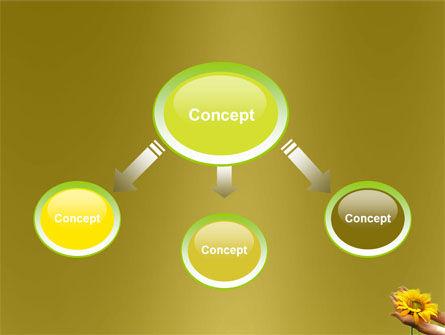 Summer Flower PowerPoint Template, Slide 4, 03501, Nature & Environment — PoweredTemplate.com
