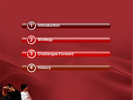 Quarrel PowerPoint Template, Slide 3, 03502, People — PoweredTemplate.com