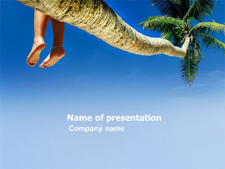 Holiday/Special Occasion: Relaxing PowerPoint Template #03504