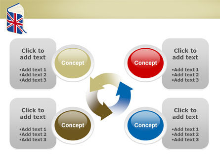 Learning English PowerPoint Template Slide 9