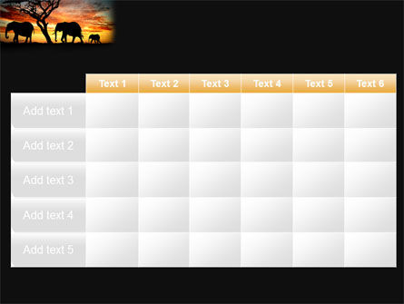 Savanna PowerPoint Template Slide 15