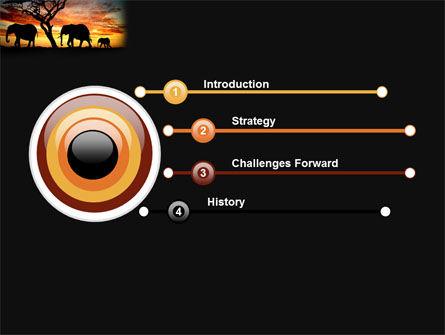 Savanna PowerPoint Template, Slide 3, 03506, Nature & Environment — PoweredTemplate.com