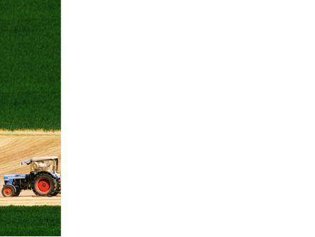 Tractor PowerPoint Template, Slide 3, 03507, Art & Entertainment — PoweredTemplate.com