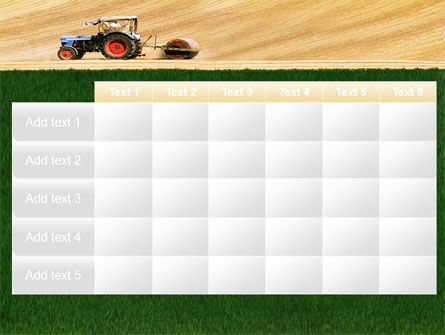 Tractor PowerPoint Template Slide 15