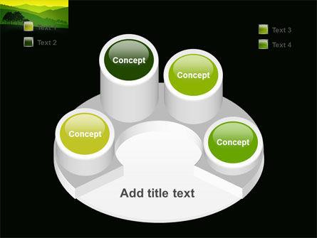 Mountain Landscape PowerPoint Template Slide 12