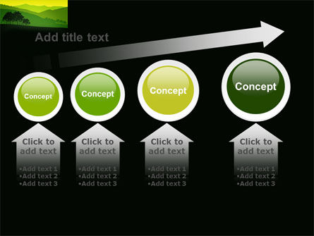 Mountain Landscape PowerPoint Template Slide 13