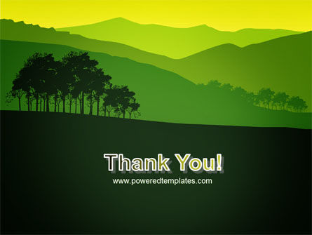 Mountain Landscape PowerPoint Template Slide 20