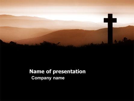 Memento Mori PowerPoint Template, 03510, Religious/Spiritual — PoweredTemplate.com