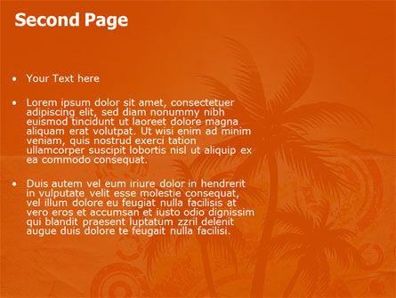 Tropic PowerPoint Template, Slide 2, 03513, Nature & Environment — PoweredTemplate.com