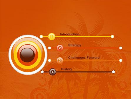 Tropic PowerPoint Template, Slide 3, 03513, Nature & Environment — PoweredTemplate.com