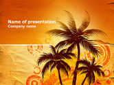 Nature & Environment: Tropic PowerPoint Template #03513