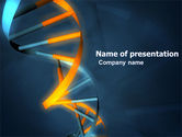 Medical: Genes In DNA PowerPoint Template #03516