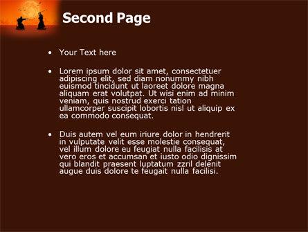 Samurai PowerPoint Template Slide 2