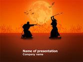 Sports: Samurai PowerPoint Template #03517