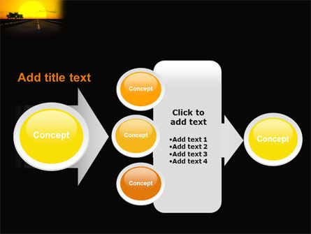 Sunset Highway PowerPoint Template Slide 17