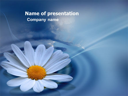 Nature & Environment: Daisy Wheel PowerPoint Template #03519